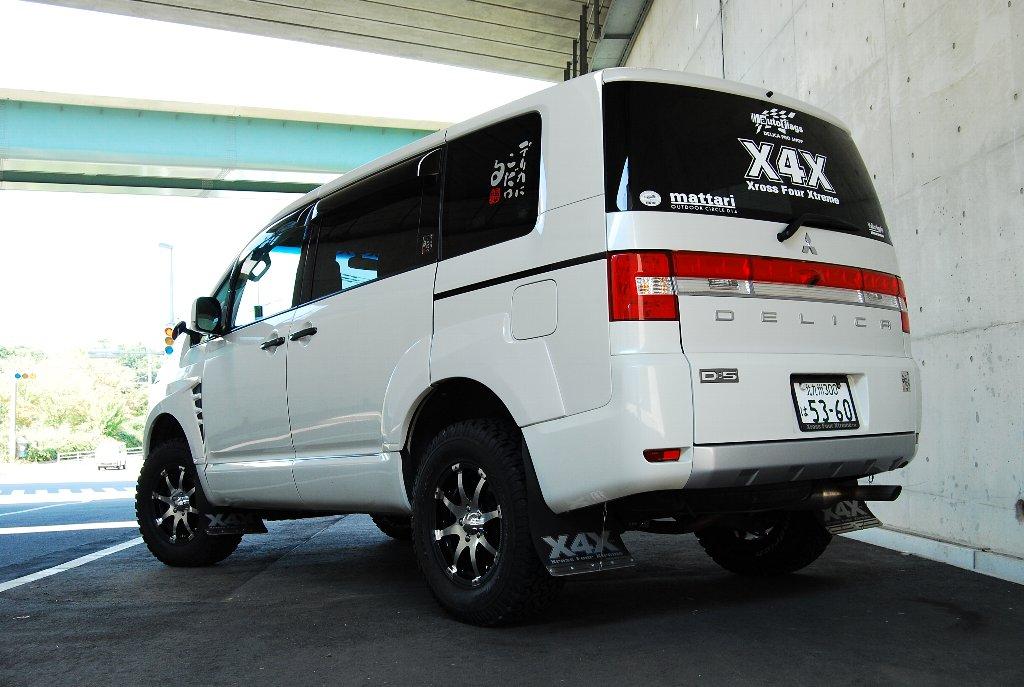XFX 09フェンダー4WDボディへの装着例